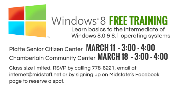 Windows 8 Training by Midstate Communications