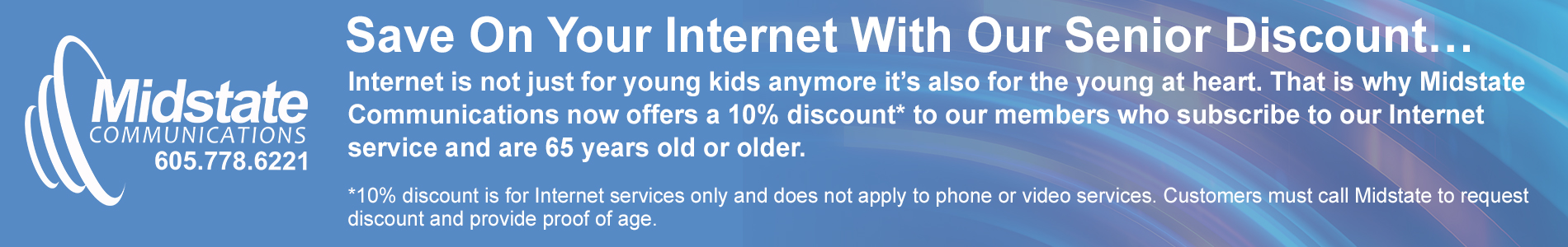 Senior Discount for Internet